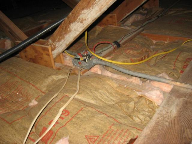 Attic Wiring Accurate Home Inspections Of The Florida